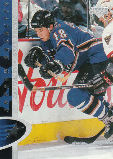 1996-97 Upper Deck Andrew Brunette Rookie