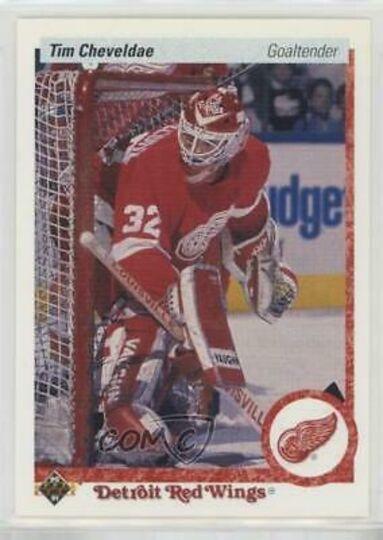 1990-91 Upper Deck Tim Cheveldae Rookie