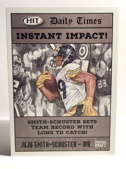 2018 JuJu Smith-Schuster Sage HIT Instant Impact