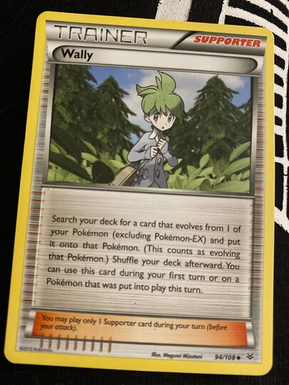 wally 94/108 trainer