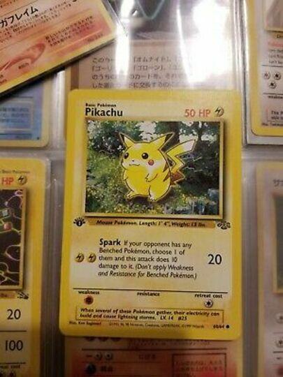 Pikachu 60/64