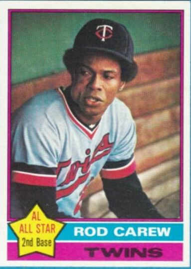 1976 Topps Rod Carew #400 NM