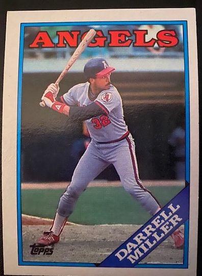 1988 Topps Angels Darrell Miller 679