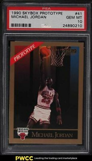 1990 skybox michael jordan 41