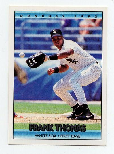 1992 donruss frank thomas 592
