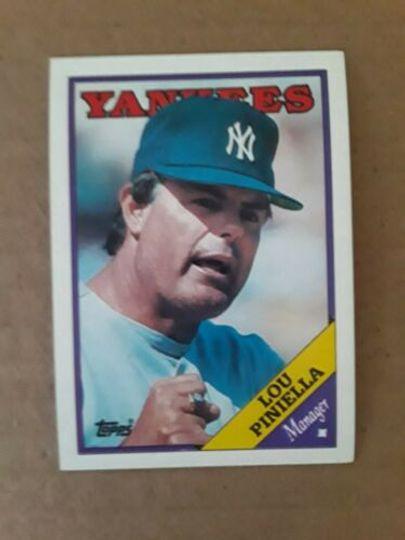 1988 Topps Lou Piniella #44