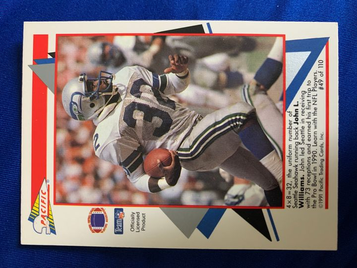 1991 Pacific John Williams 49