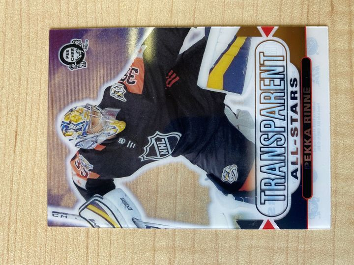 2018-19 O Pee Chee Pekka Rinne Transparent All-Stars, number CCA-21
