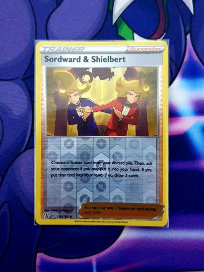 Sordward & Shielbert (135/163) Reverse Holo