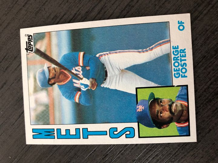 1984 TOPPS GEORGE FOSTER 350