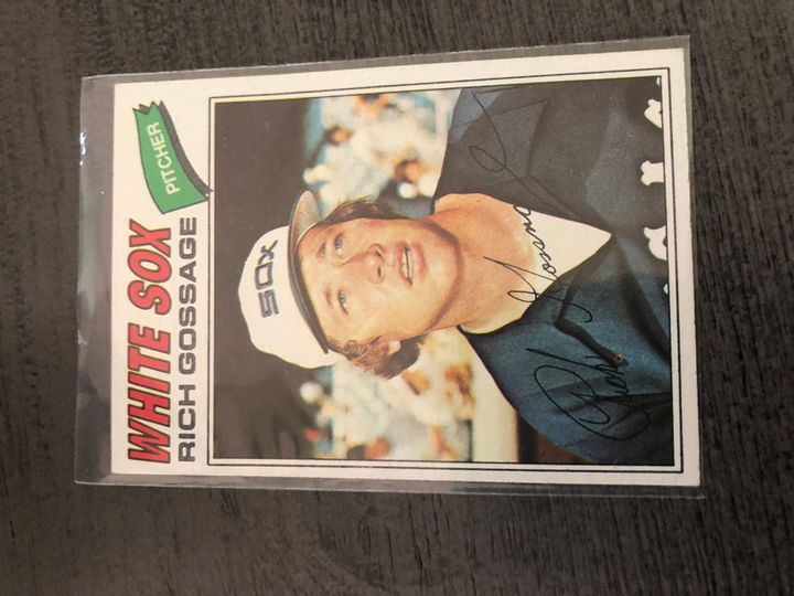 1977 TOPPS RICH GOSSAGE 319