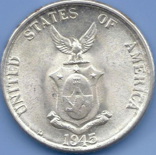 1945 20 Centavos Philippines