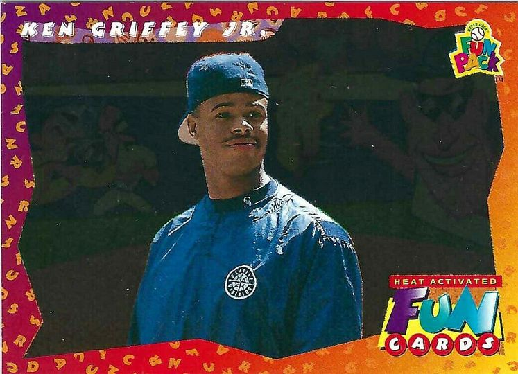 1994 ken griffey jr fun pack