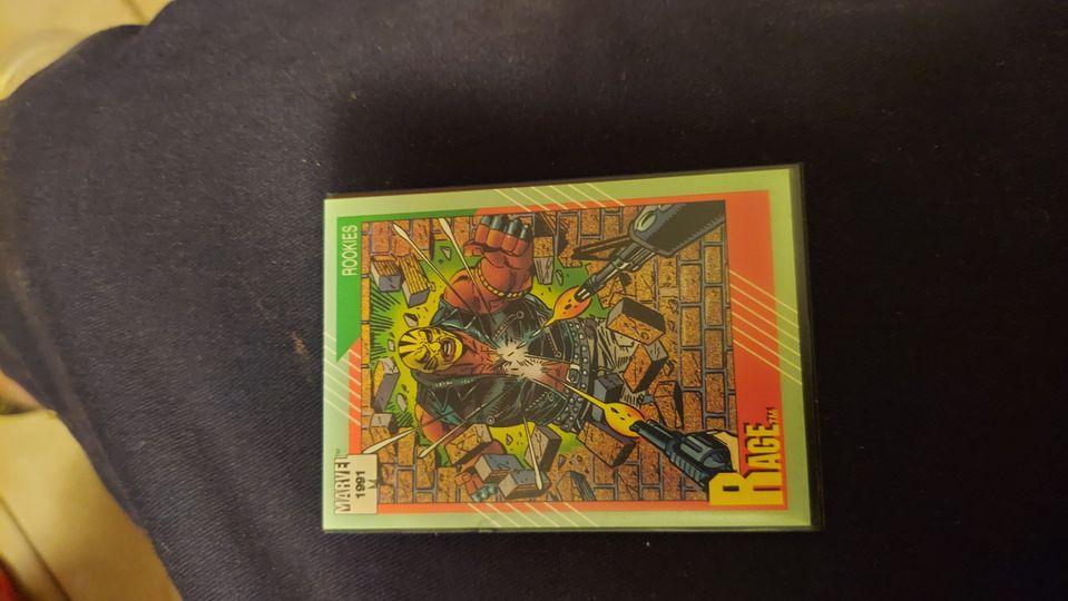 1991 Marvel Universe II #147 Rage