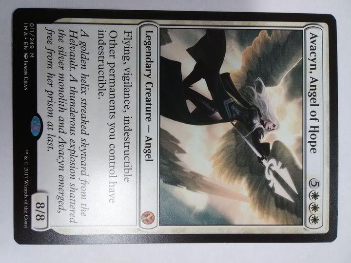 Avacyn, angel of hope Iconic Masters NM-Gem mint?