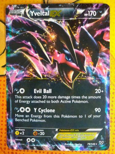 Yveltal EX 79//146 HOLO Pokémon card