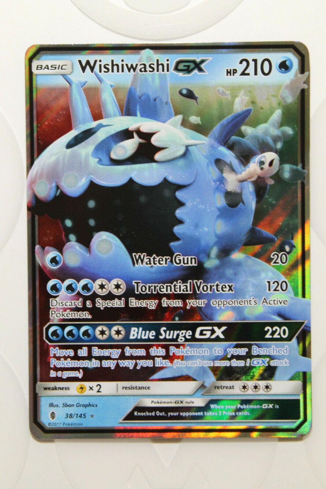 Wishiwashi Framed GX Cards