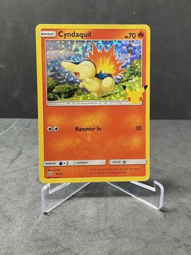 2021 Pokemon McDonald's 25th Anniversary Pokemon card # 10/25 HOLO Cyndaquil