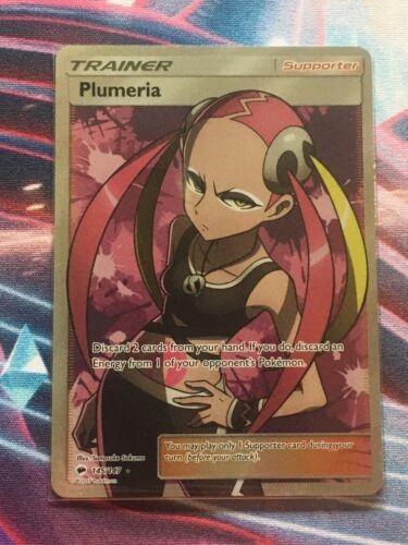 SMH3 57//51Mint Condition Details about  /Plumeria Secret Rare Full Art