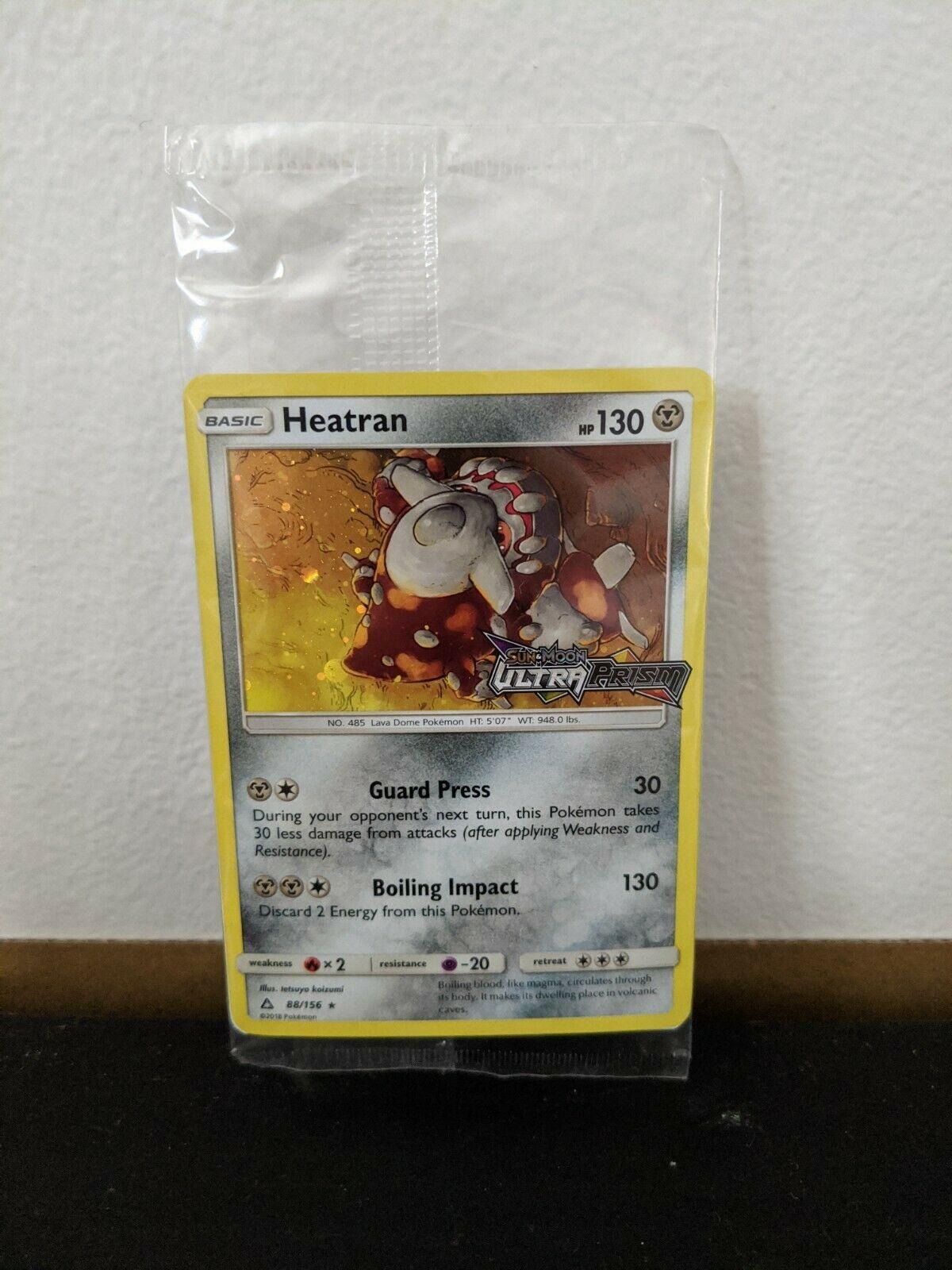 Prerelease Promo Holo Neu/&OVP Pokemon! Heatran Ultra Prisma 88//156 DE!