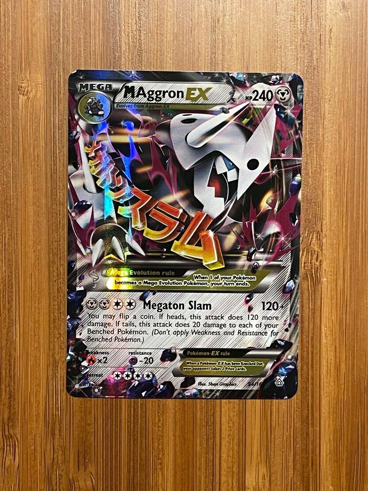 M Aggron-EX Ultra Rare Pokemon Pokemon XY Primal Clash NM 94//160