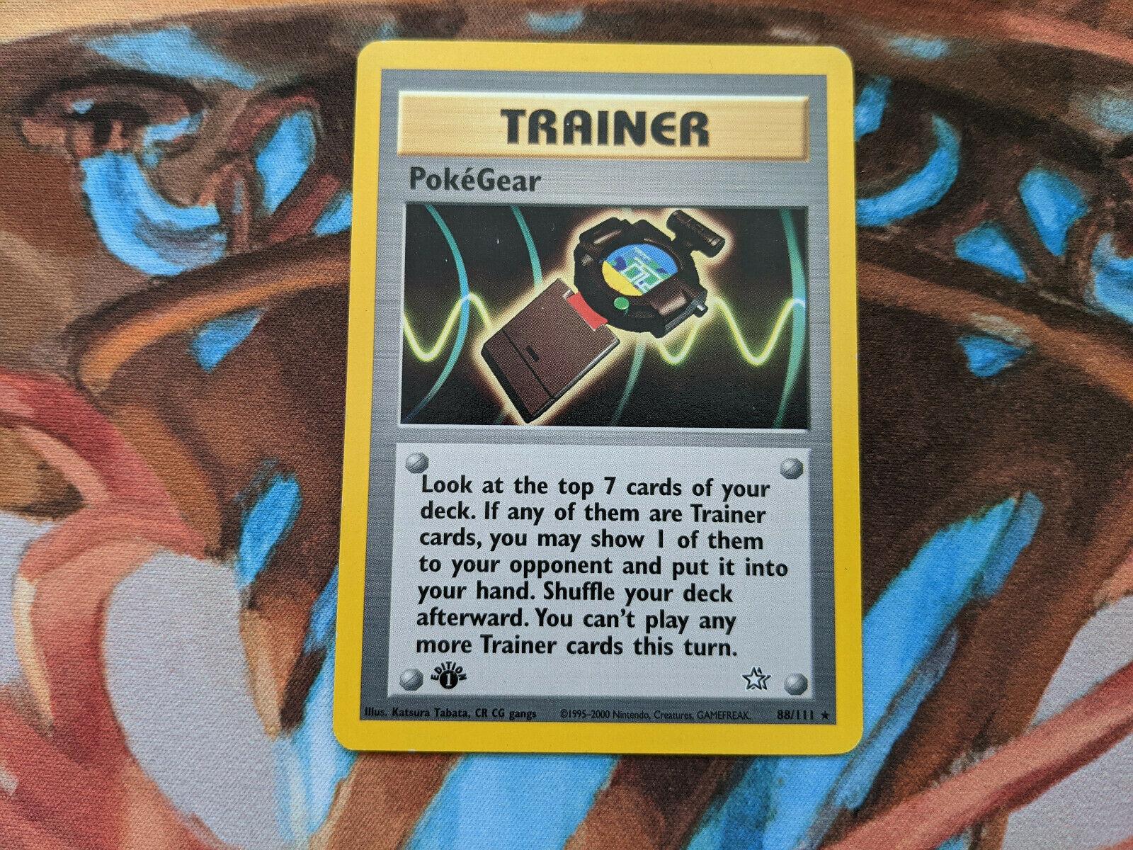 PKNeoGen088 Rare 88//111 Neo Genesis Pokegear