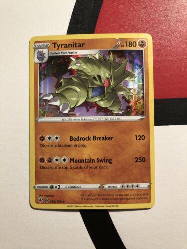 88//189 Holo Rare Near Mint Sword /& Shield 3x Tyranitar Darkness Ablaze