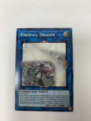 YuGioh Firewall Exceed Dragon NM 1st /& Unlimited Ed DANE-EN036 Ultra Rare Card