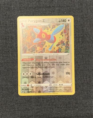 Porygon-Z - 118/198 - Reverse Rare Pokemon Chilling Reign M/NM Pokémon