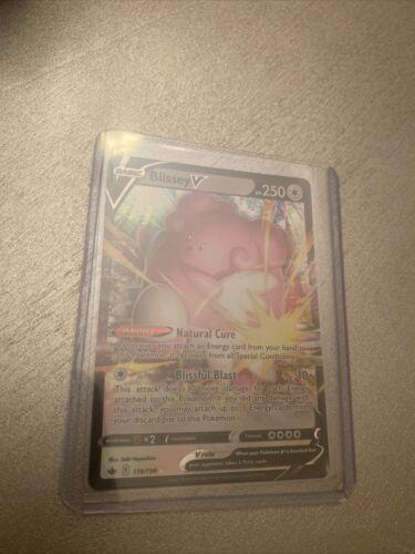 Pokemon Chilling Reign Blissey V 119/198 Ultra Rare