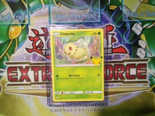 Pokemon: Chikorita 2/25 - Non Holo - Mcdonald's Promo 25th Anniversary - *M-NM