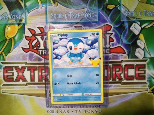Pokemon: Piplup 20/25 - Non Holo - Mcdonald's Promo 25th Anniversary - *M-NM