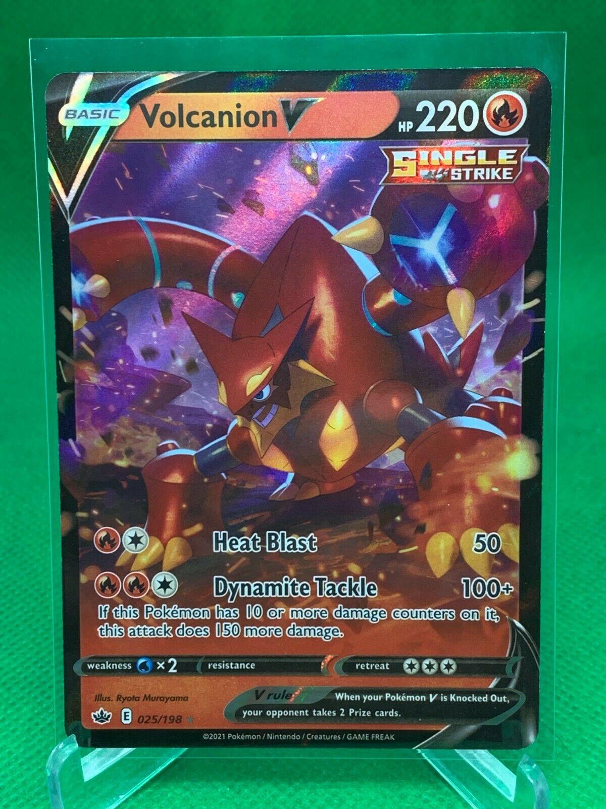 Pokemon - Volcanion V - Chilling Reign - 025/198 - Ultra Rare