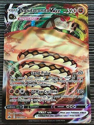 Pokemon : SWSH CHILLING REIGN SANDACONDA VMAX 090/198 ULTRA RARE