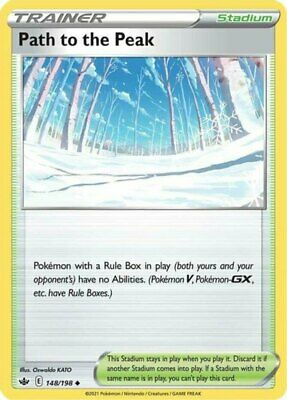 x1 Path to the Peak - 148/198 - Uncommon Pokemon SS06 Chilling Reign M/NM