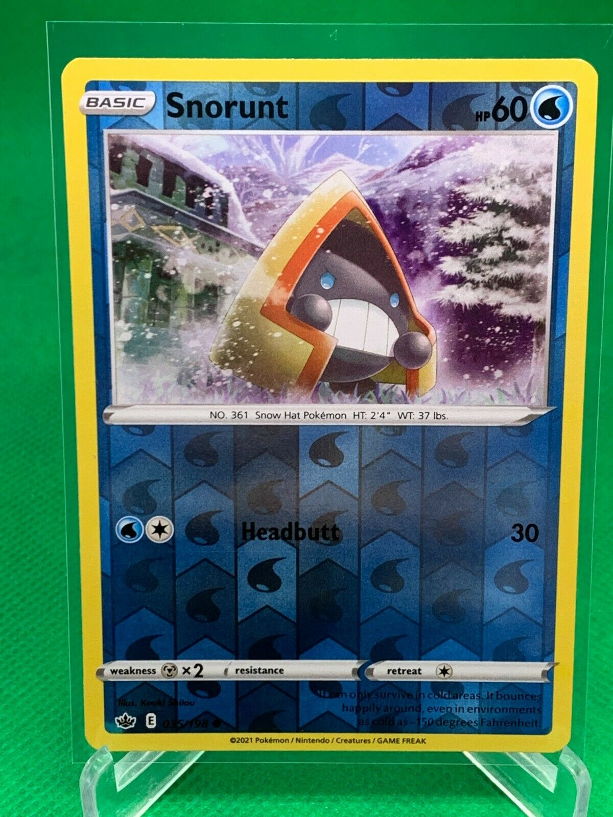 Pokemon - Snorunt - Chilling Reign - 035/198 - Reverse Holo