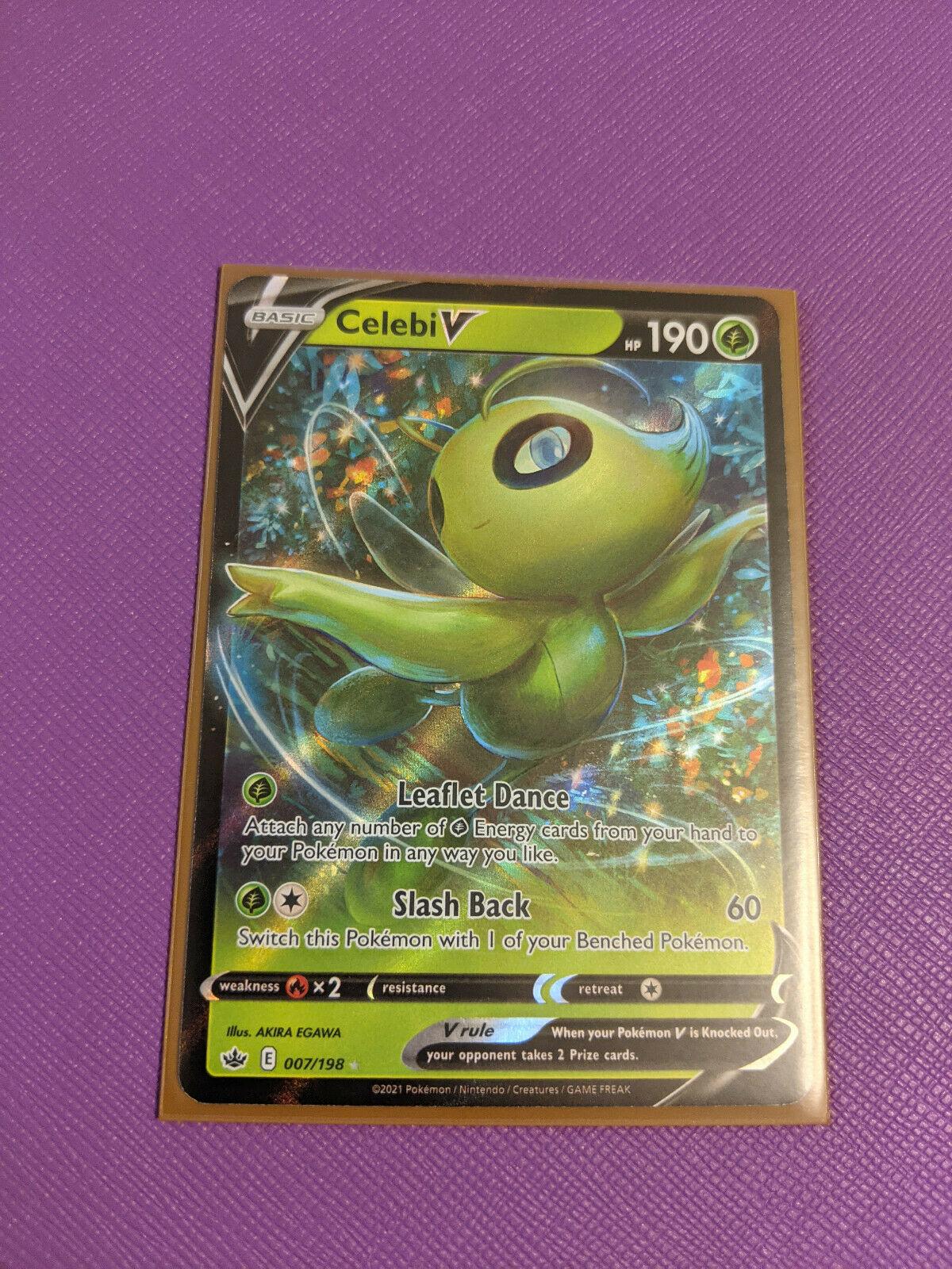 Pokemon Celebi V 007/198 & Celebi VMAX 008/198 - Chilling Reign