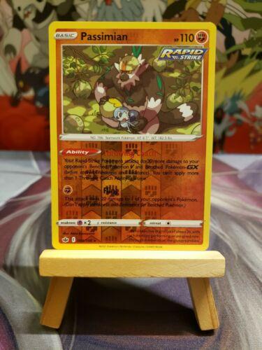 Passimian [088/198] Reverse Holo Rare, SWSH Chilling Reign, Mint/NM, Pokemon TCG