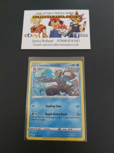Pokemon Card Rapid Strike Urshifu 044/198 Chilling Reign Set - Holo