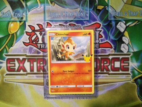 Pokemon: Chimchar 12/25 - Non Holo - Mcdonald's Promo 25th Anniversary - *M-NM
