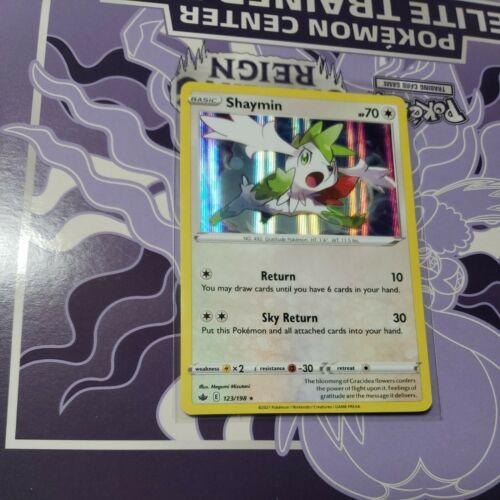 Pokemon - Shaymin - 123/198 - Holo Rare - Chilling Reign - NM/M