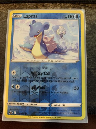 Pokemon - Lapras - Chilling Reign - 029/198 - Reverse Holo