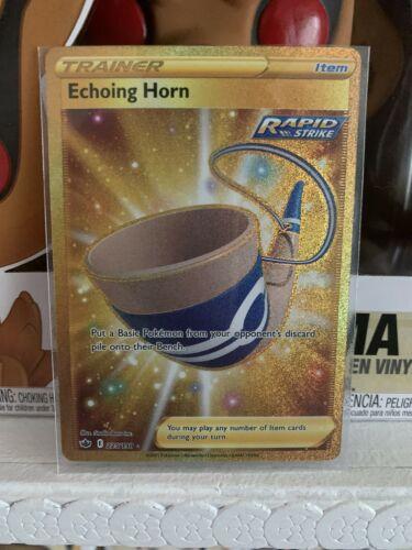 Pokemon TCG: Chilling Reign - Echoing Horn 225/198 Secret Rare