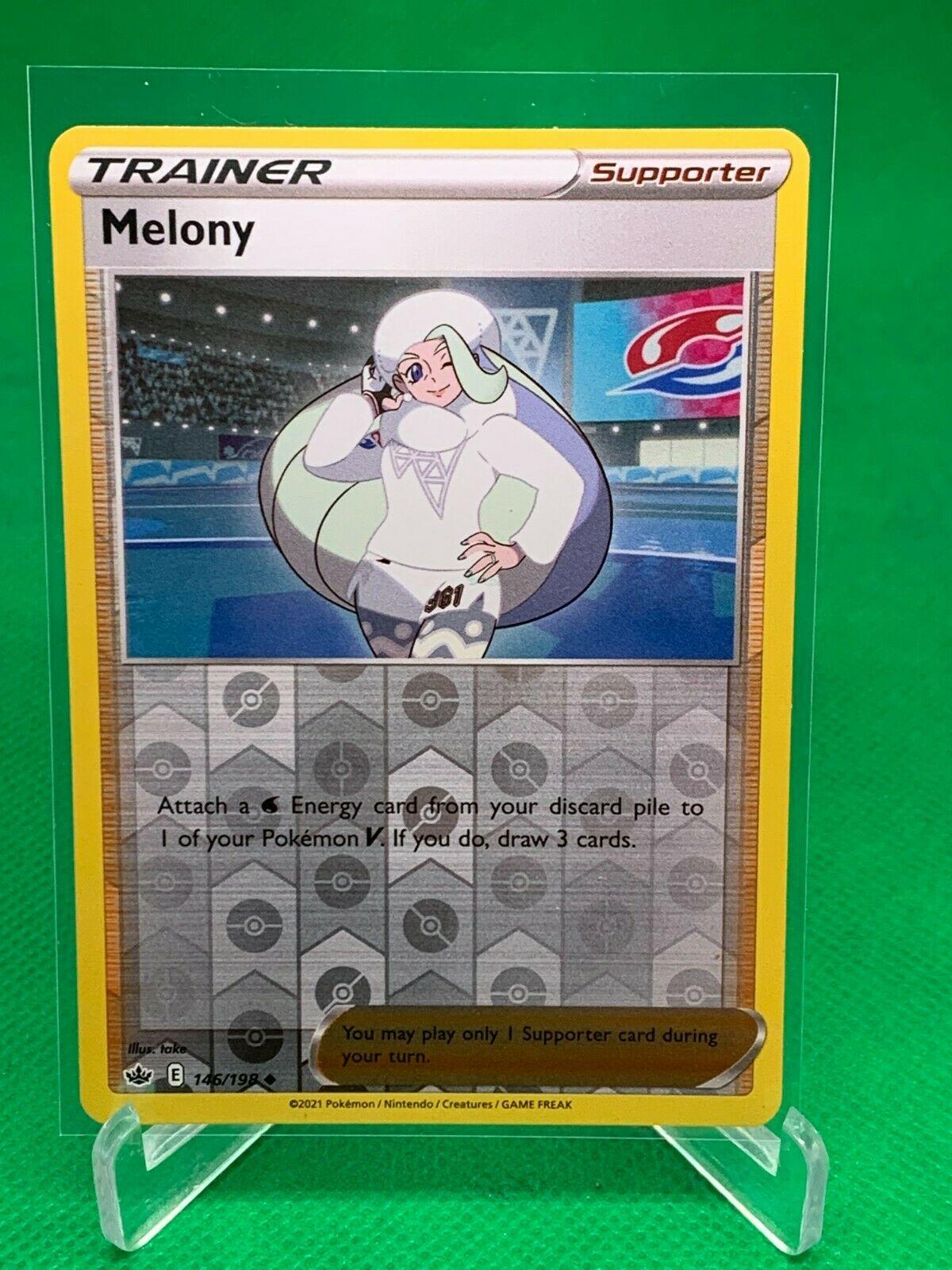 Pokemon - Melony - Chilling Reign - 146/198 - Reverse Holo