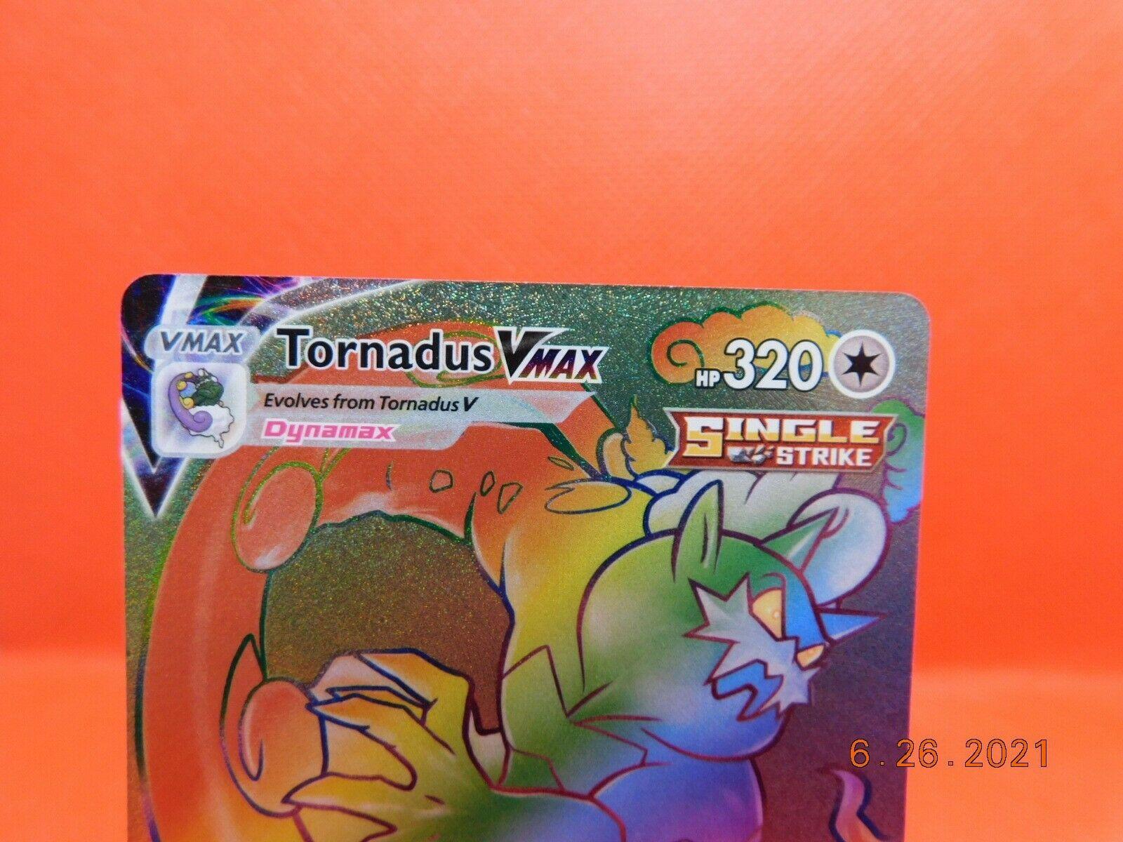 Tornadus VMAX 209/198 - Pokemon TCG Chilling Reign - MINT - Image 2