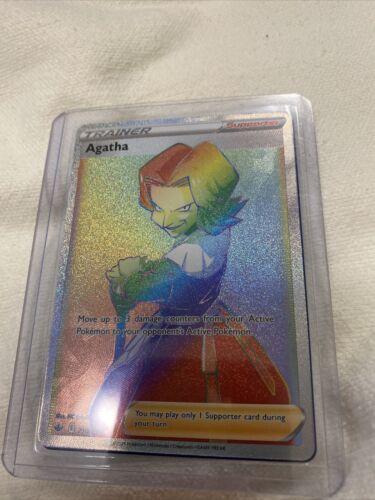 Pokemon  - Agatha 210/198 - Secret Rare - Chilling Reign