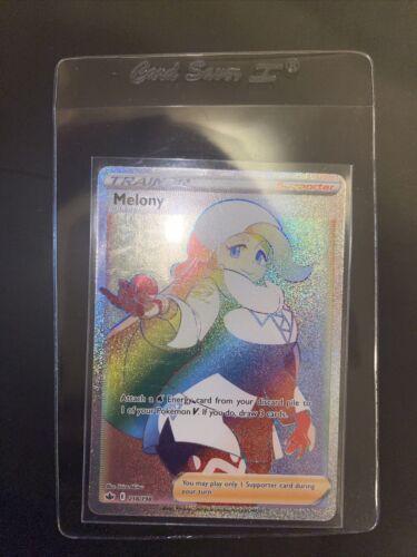 🔥 Melony 218/198 Rainbow Rare Hyper Rare Chilling Reign PSA 10 High Chance