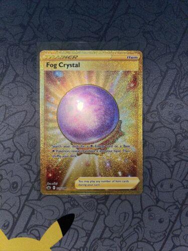 Fog Crystal 227/198 Gold Secret Rare Pokemon TCG Chilling Reign FULL ART