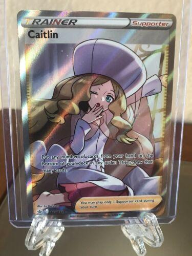 Pokemon Chilling Reign Caitlin 189/198 Full Art Trainer Ultra Rare MINT