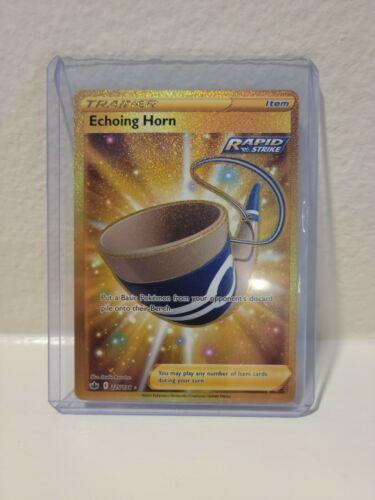 Pokemon Gold Echoing Horn (225/198) - Chilling Reign - Image 3